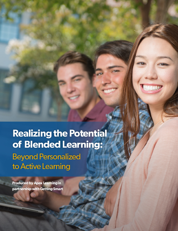 White Paper: Realizing the Potential of Blended Learning